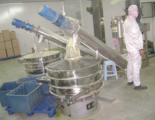 不锈钢振动筛分机使用案例